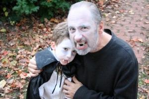 Vampire Boy with Vampire Daddy