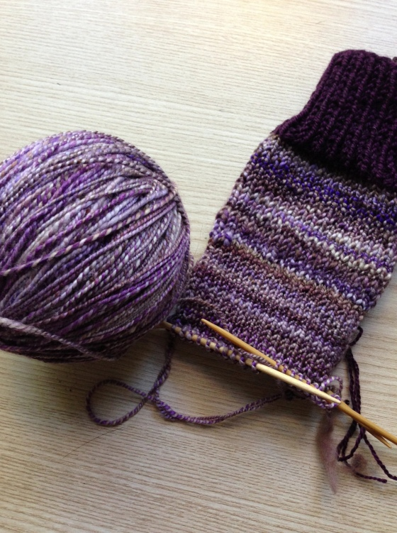 handspun purply goodness