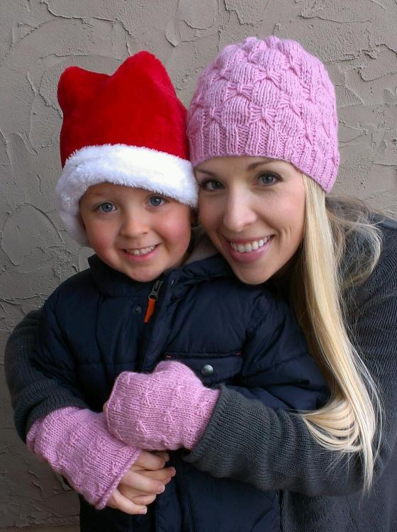 my beautiful niece and great-nephew