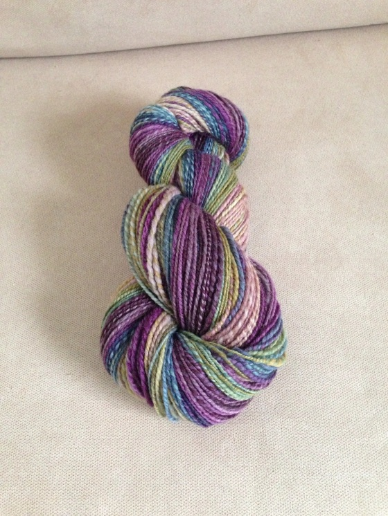 "Hello Yarn Polwarth, ""Troll"""