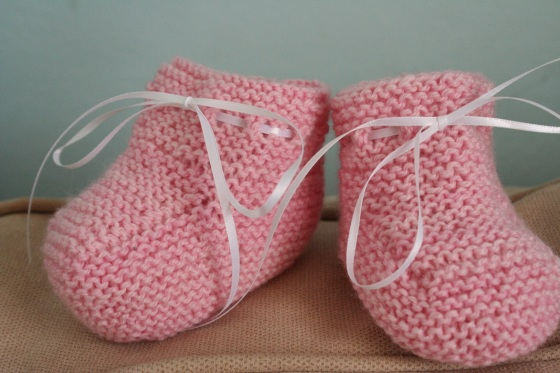 can't wait to see these on sweet baby feet!