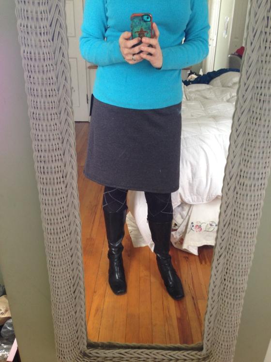 Jordanne A-Line Skirt