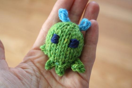 little alien in my hand