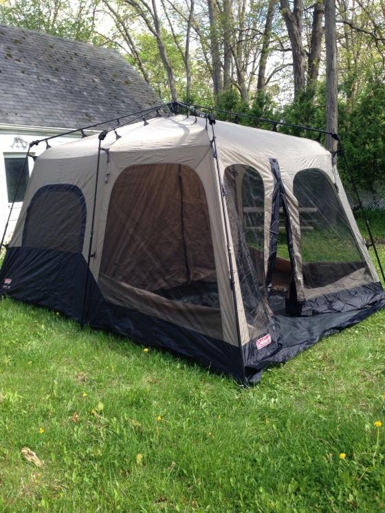Coleman 14x10 foot 8-person Tent
