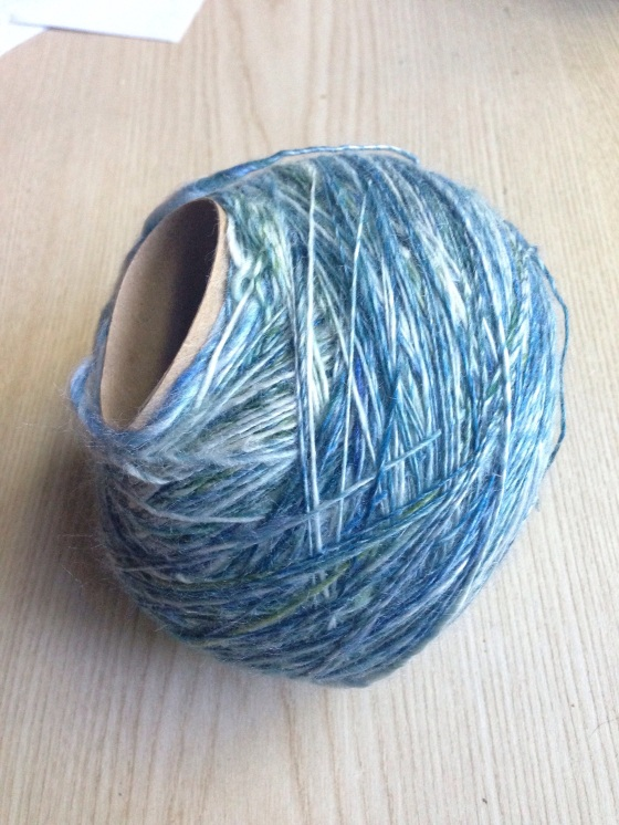 toilet paper roll yarn