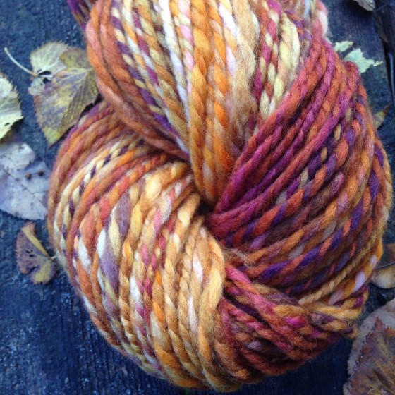 "Hello Yarn Polwarth in ""Tiny Flicker"""