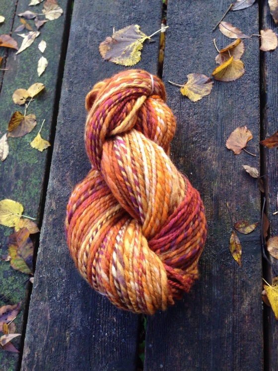 fat fall yarn