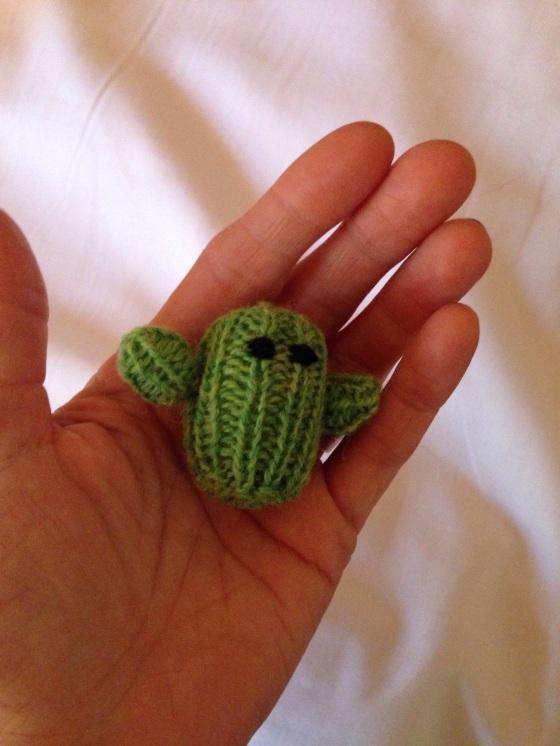 cactus in my hand