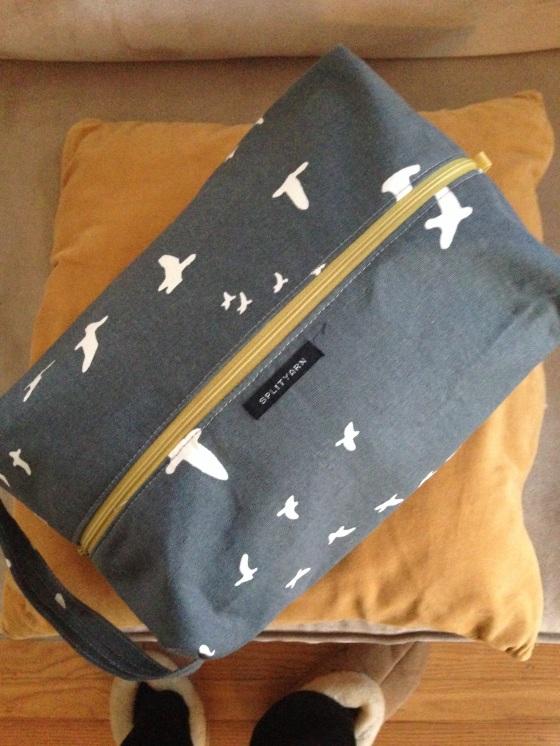 Splityarn Biggie Box Bag