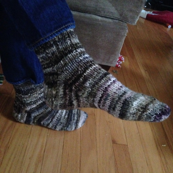 handspun hubby socks
